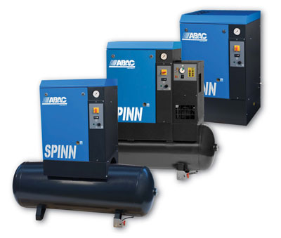 ABAC screw compressors | air compressors | air power UK