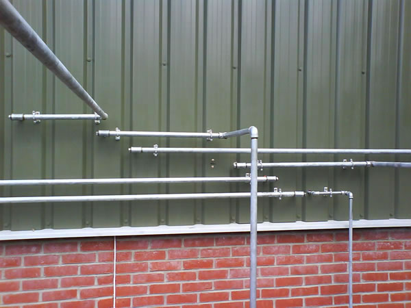 Compressed air pipework | airpower uk